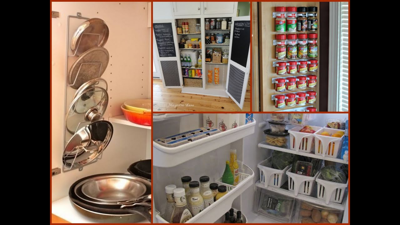 Kitchen Organization Ideas Diy Kitchen Organization Tips  Home Organization Ideas  Youtube