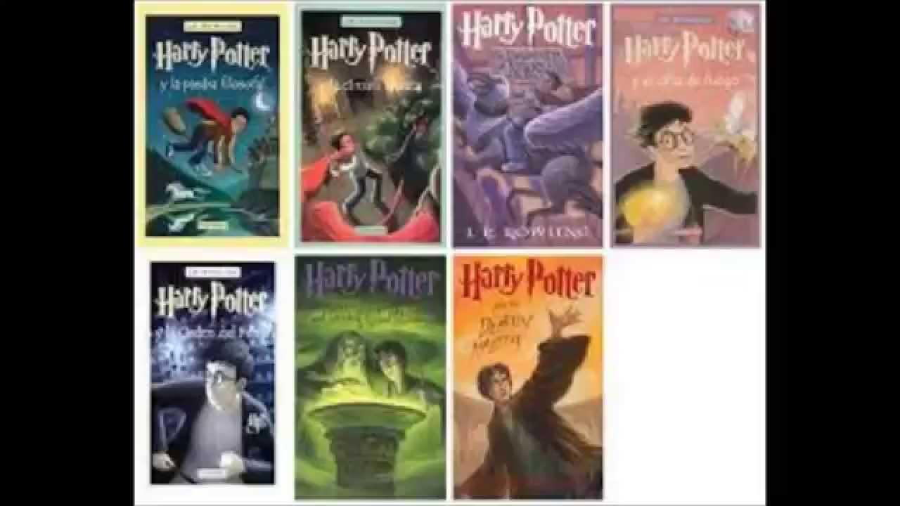 Pack Para Descargar Todos Los Libros En PDF De HARRY