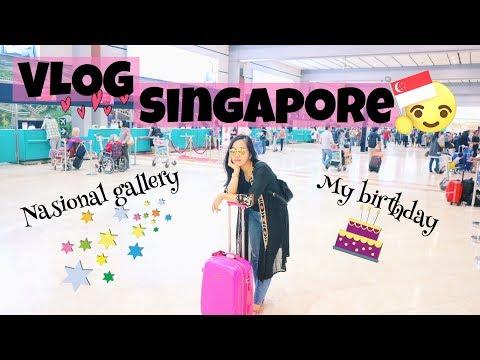 VLOG [1] - Nasional Gallery Singapore