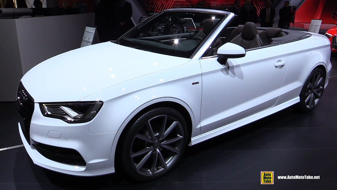 2015 audi a3 cabriolet ambition 1 4 tf exterior. Black Bedroom Furniture Sets. Home Design Ideas