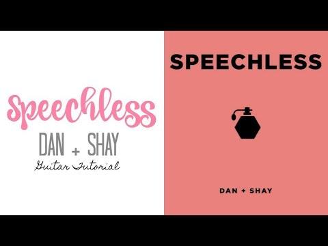 Speechless Dan Shay Guitar Tutorial Youtube