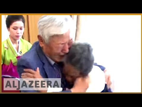 🇰🇷 🇰🇵 Korean families reunite after being separated since 1950s | Al Jazeera English