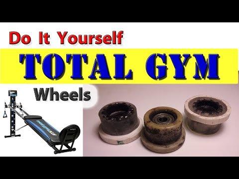 DIY Total Gym Wheels / Rollers - easy