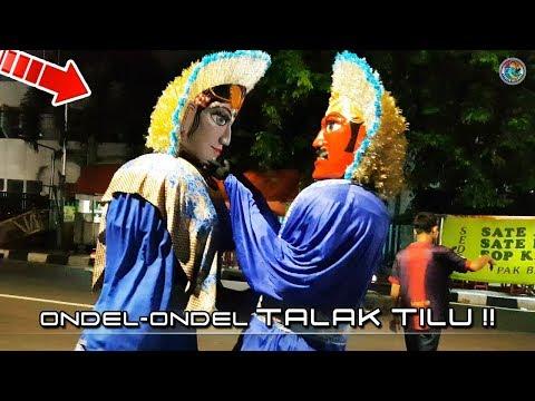 Ondel-Ondel Bintang Adzam TALAK TILU, Joget Paling SEMANGAT!! (4K Video)