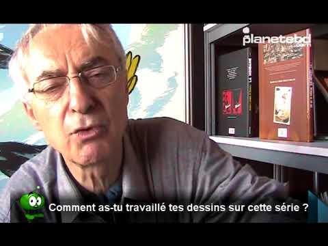 François Bourgeon en interview sur planetebd.com