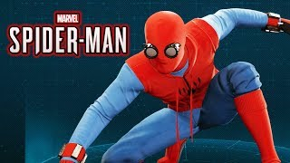 Spider-Man Ps4 - Homemade Spider Suit Gameplay Showcase