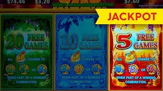 *JACKPOT HANDPAY* Golden Pumpkin Slot Machine Live Play Bonus!