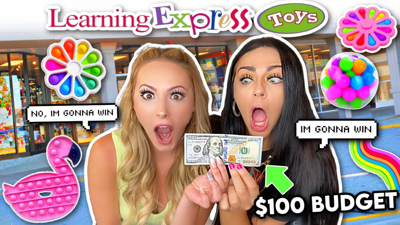 Download $100 BUDGET FIDGET SHOPPING CHALLENGE with PURPLESTARS02!!!! *who will win?!*