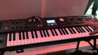 mmag.ru: Roland V-Combo VR-09 Live Performance Keyboard @ Musikmesse 2013