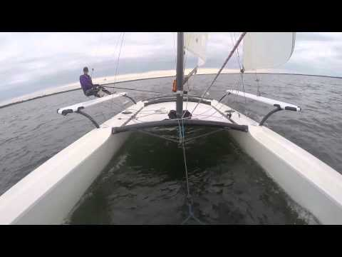 Hobie Cat 21 sailing