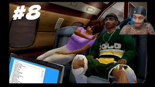 NBA Ballers Phenom Story Mode Part 8 - First Class Flight!