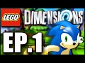 Let S Play LEGO Dimensions Sonic Level Pack EP 1 BLIND mp3