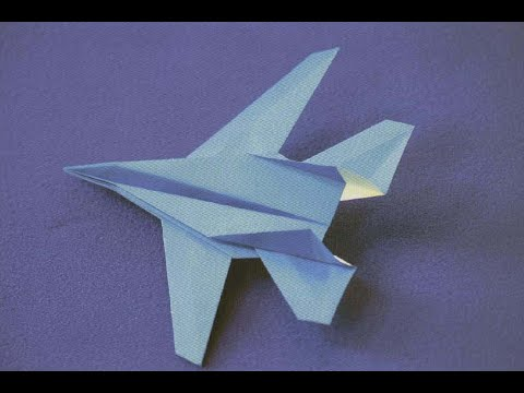 origami f14 tomcat fighter jet hd youtube
