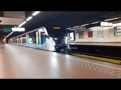 New M7 Metro at Park (Brussels)