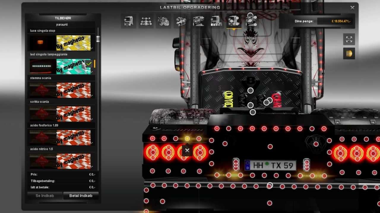 Ets 2 Scania V8 Mods Youtube