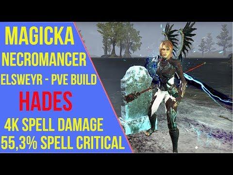 Magicka Necromancer PVE Build ESO - ArzyeLBuilds