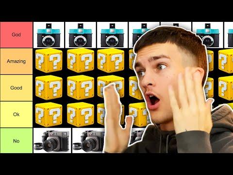 Best Film Camera | Film Camera Tier List