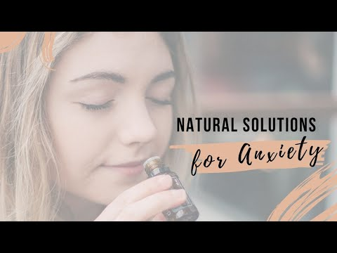 Coping with Anxiety Naturally