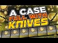 HELLCASE $1000 CASE OPENING CHALLENGE! KNIFE ONLY CASE OPENING!