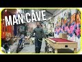 The ultimate motorcycle mancave