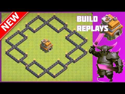 New EPIC Th7 War/Trophy Base [Build+Replays] | The Shock Box | Clash Of Clans (CoC)