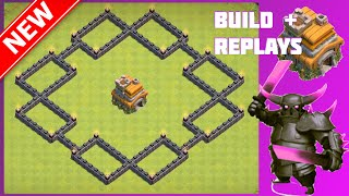 New EPIC Th7 War/Trophy Base [Build+Replays]   The Shock Box   Clash Of Clans (CoC)
