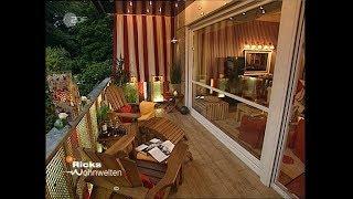 Ricks Wohnwelten Balkon mit besonderem Lichtspiel