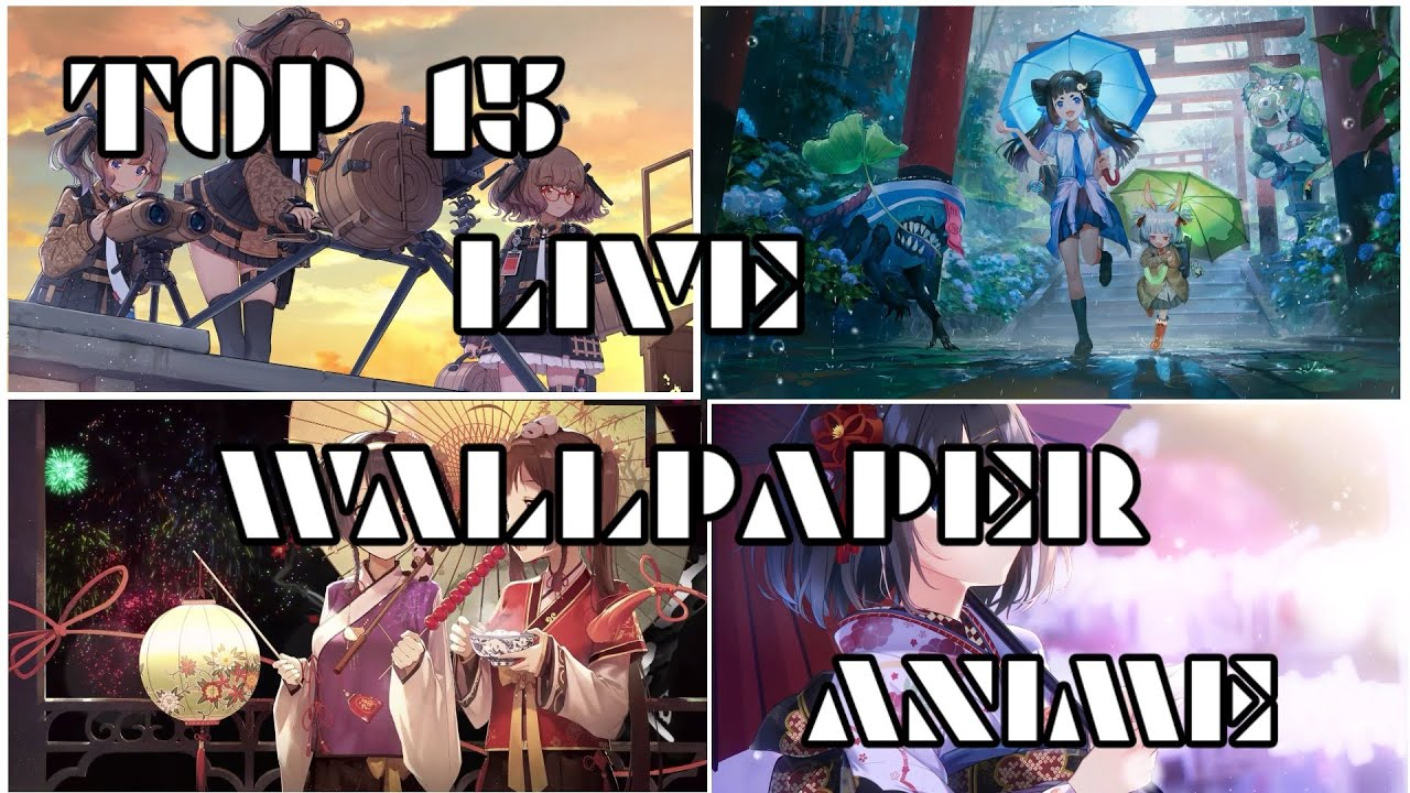 Download free lively anime live2d wallpaper 3.2.6 for your android phone or tablet, file size: Anime Live Wallpaper Offline Apk 2021