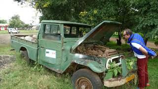 Кинута Toyota LC-40 пекап сувора Танзанія