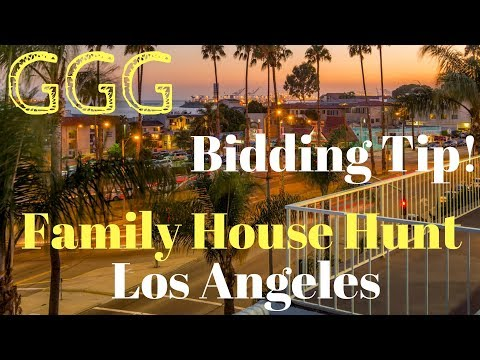 Los Angeles House Hunting
