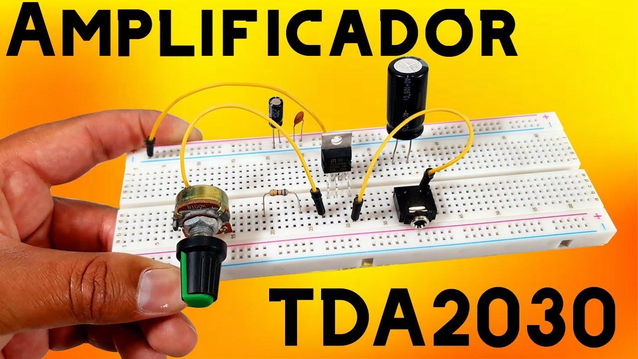 Amplificador casero con TDA2030A (Muy fácil de Hacer)