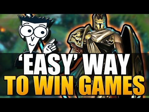 EASY' WAY TO WIN GAMES - Pantheon Guide | Tips & Tricks - League of Legends