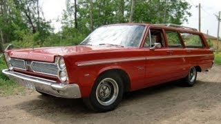Test Drive the 1966 Plymouth Fury Wagon!