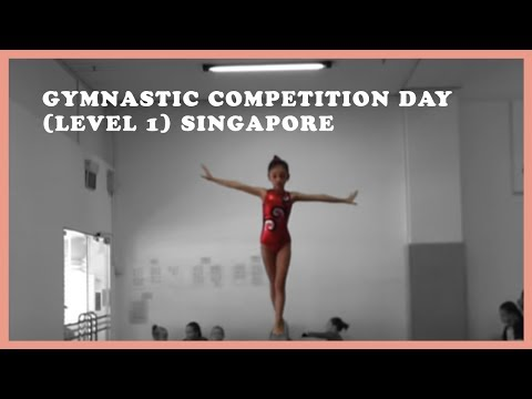 Gymnastic Competition day Level 1 Singapore