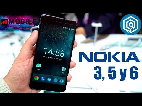 Nokia 3, 5 y 6 | Nokia quiere hacerse con la gama de entrada #MWC17
