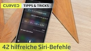 42 Siri-Sprachbefehle | deutsch