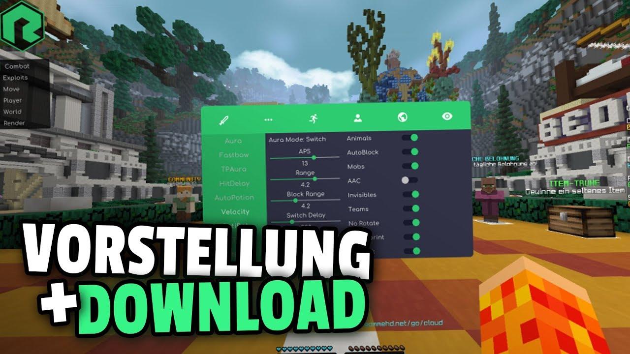 Minecraft 1 8 Remix Hack Client/Download+Vorstellung