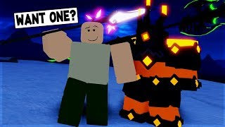 NOOB GIVEAWAY FREE LEGENDARY PART 2 IN DUNGEON QUEST ROBLOX
