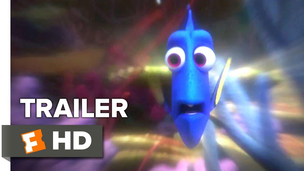 画像: Finding Dory Official Trailer #1 (2016) - Ellen DeGeneres, Idris Elba Animation HD youtu.be