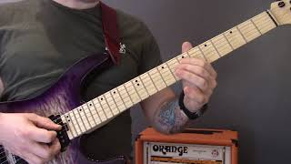 Mayhem - Cursed In Eternity Guitar Lesson