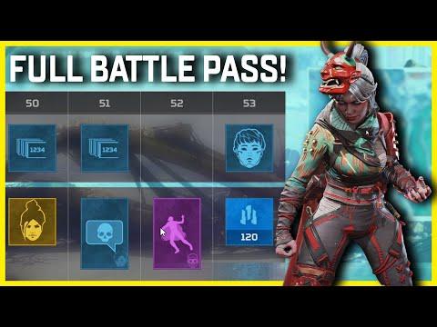 All Legacy Battle Pass Rewards In Apex Legends Season 9
