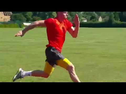 Oliver Burke pre-season training with SprintingSpeed.com