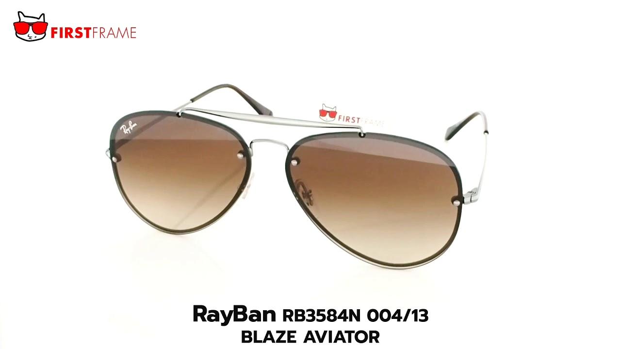 7d0882ea19da RayBan RB3584N 004 13 BLAZE AVIATOR - YouTube