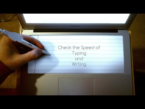 how to find out typing speed
