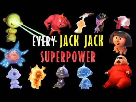 Incredibles 2 - Every Jack Jack Superpower