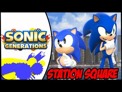 Sonic Generations (PC) Station Square Mod