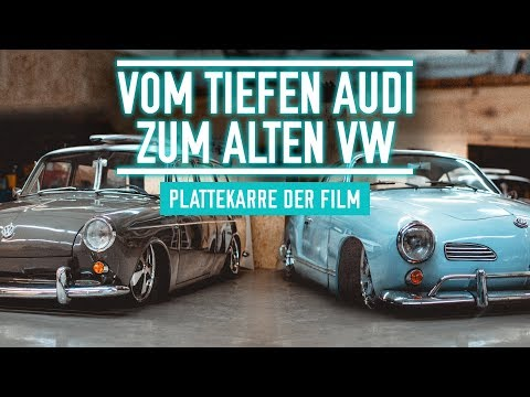 From the deep Audi to the old VW | Disc cart the movie