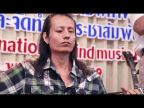 MBM Band from Myanmar @Music Workshop on Blind Music Fest4 Bangkok Thailand
