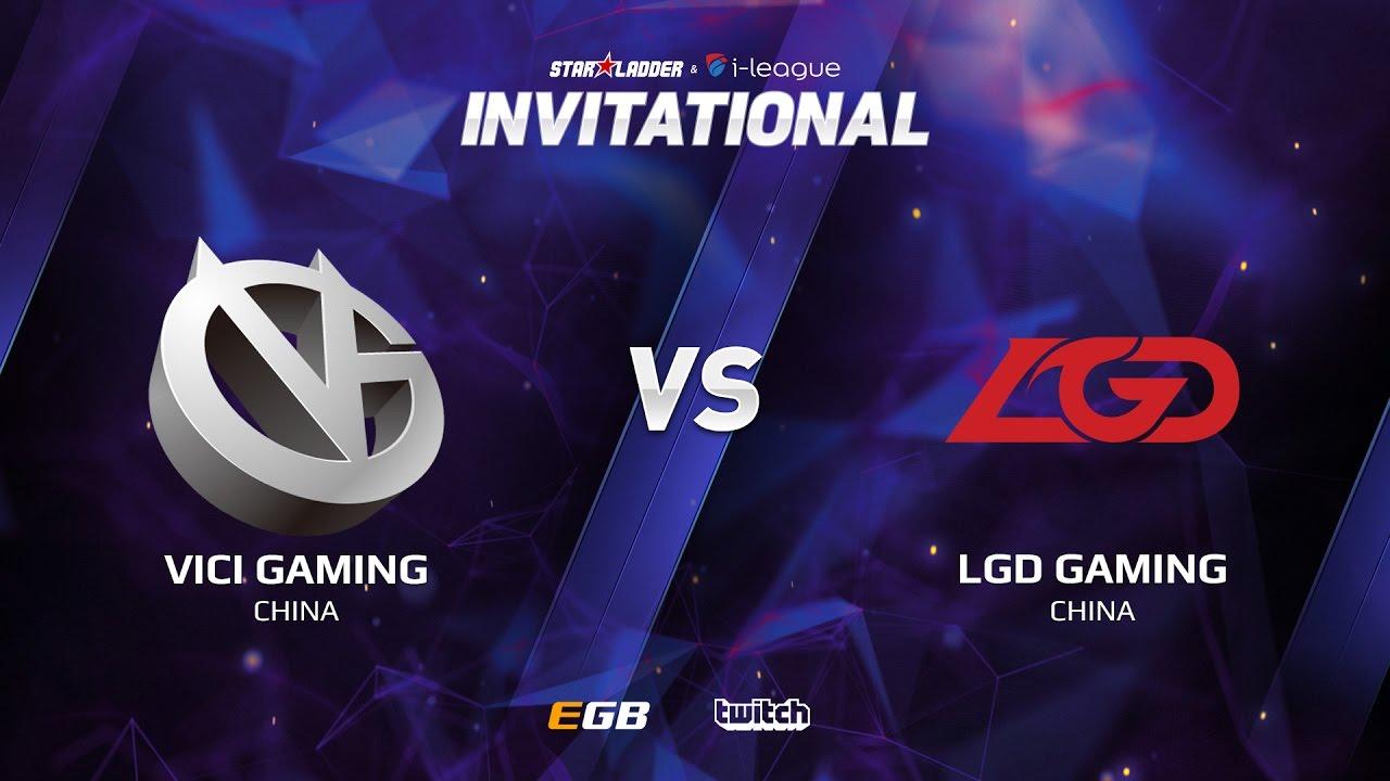 Vici Gaming vs LGD Gaming, Game 1, SL i-League Invitational S2, CN Qualifier