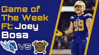 Alliance of American Football : AAF Zone's Game of the Week with Joey Bosa